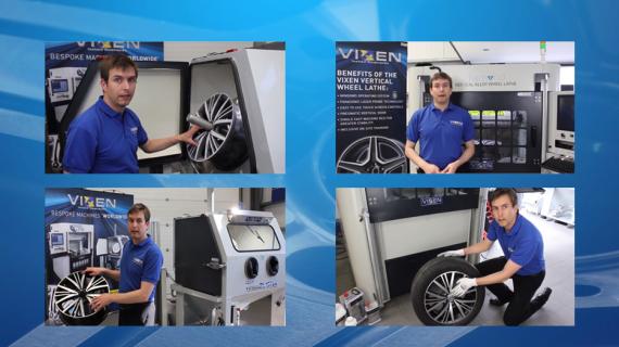 Vixen's Smart Wheel Repair Process